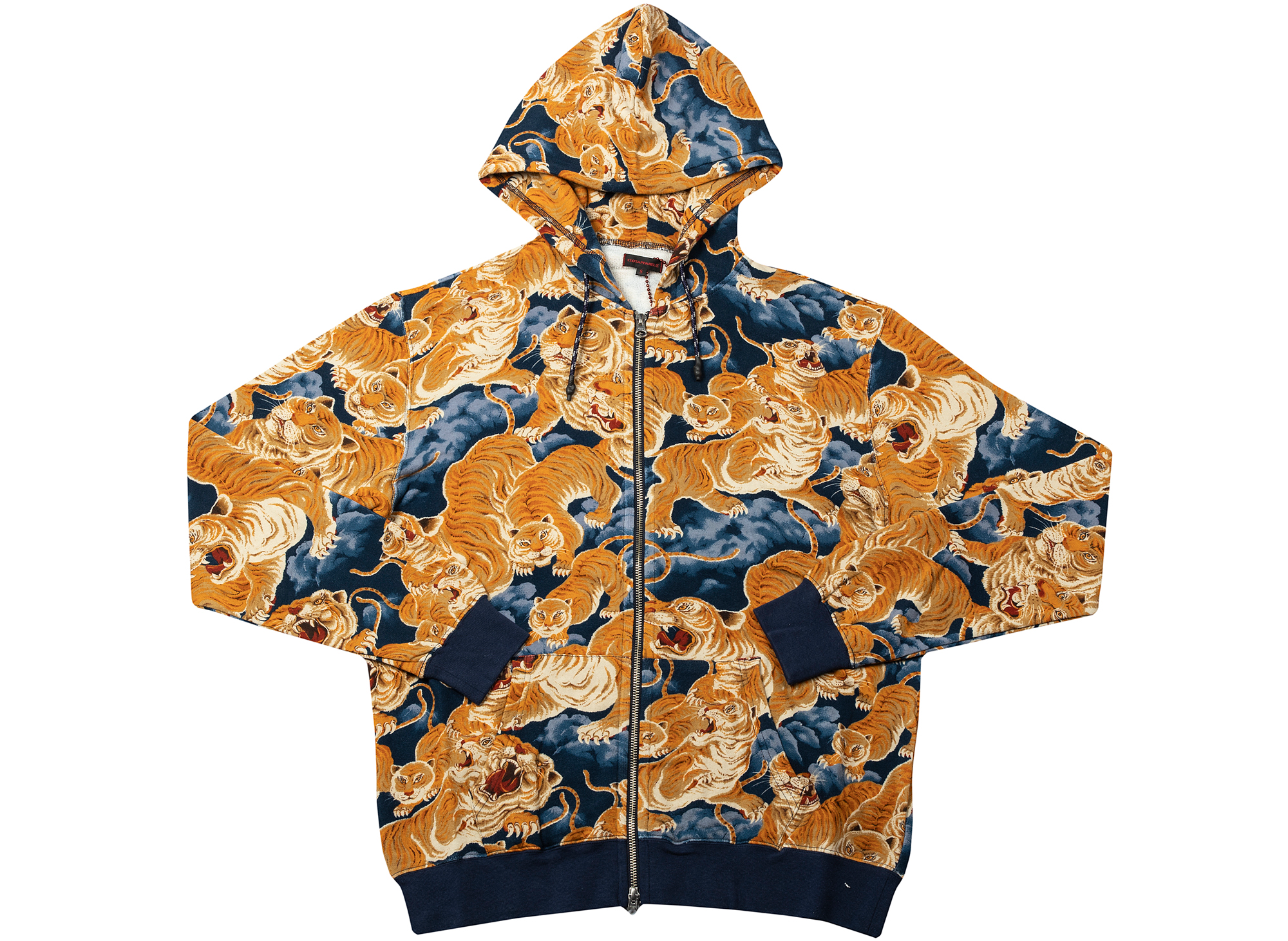 Clot Tiger Clouds Zip-Up Hoodie