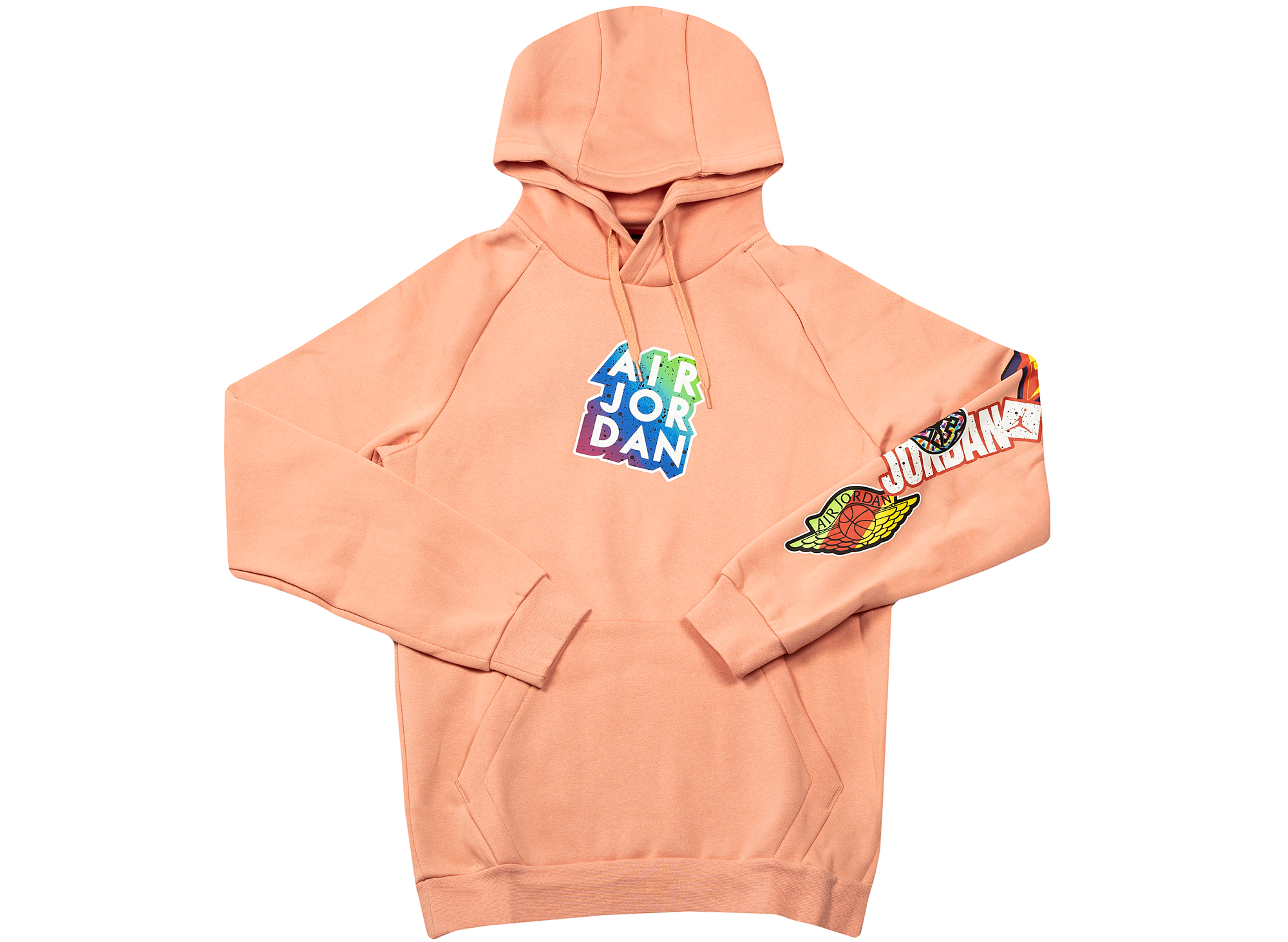 Jordan Jumpman Sticker Hoodie in Pink