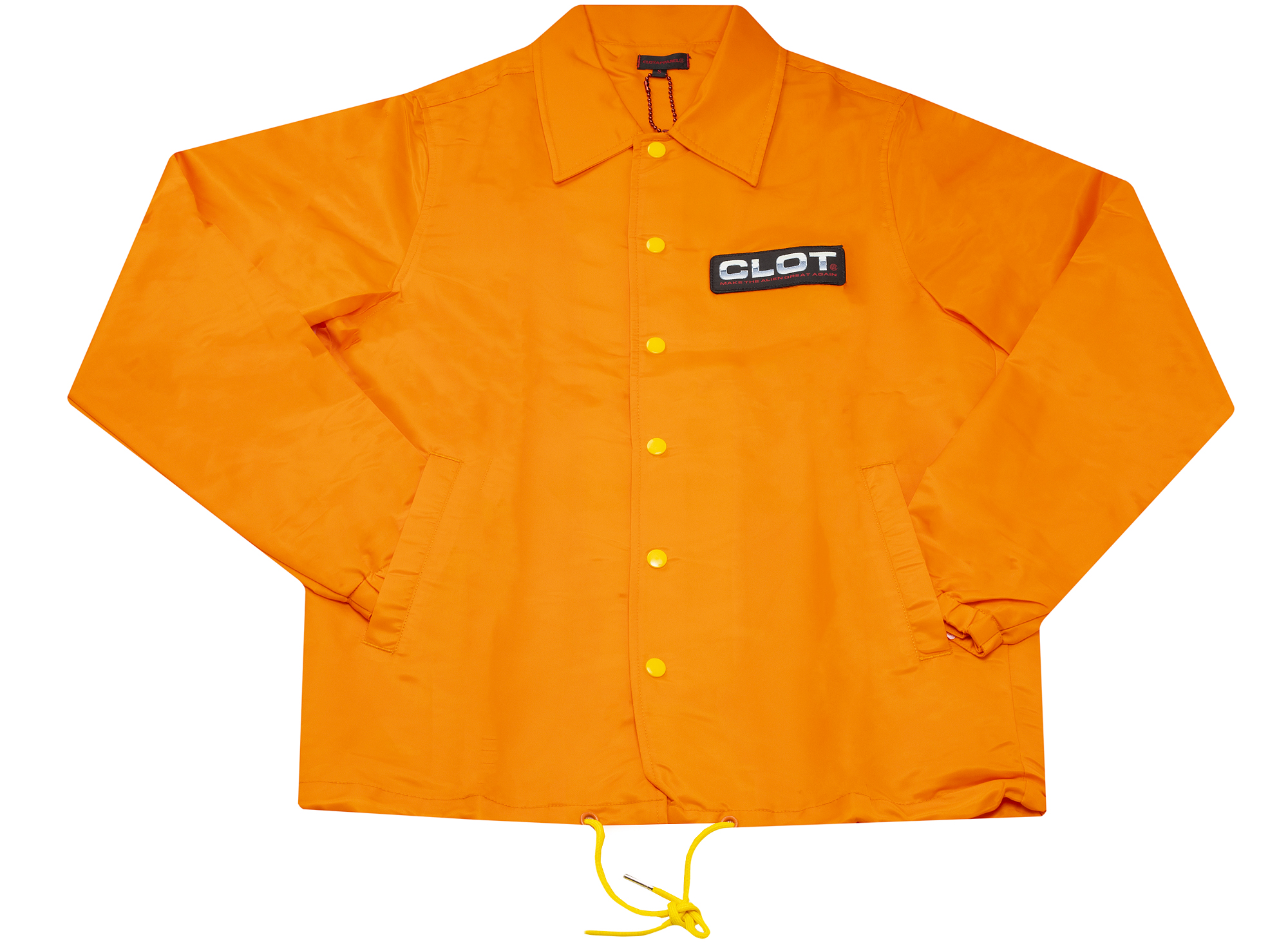 Clot Obey Your Maser Coach Jacket