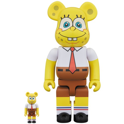 Medicom Toy BearBrick Spongebob 100% & 400%