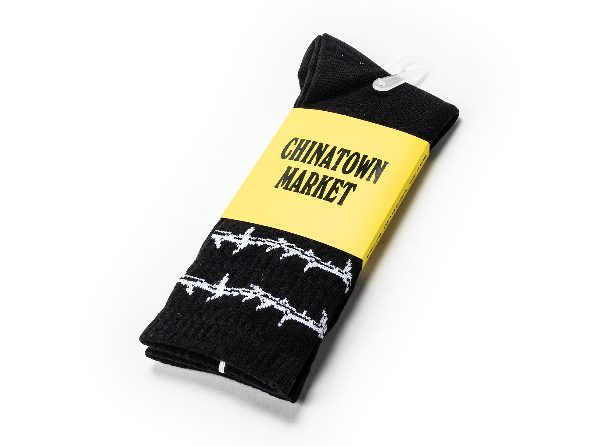Chinatown Market Thorn Socks in Black