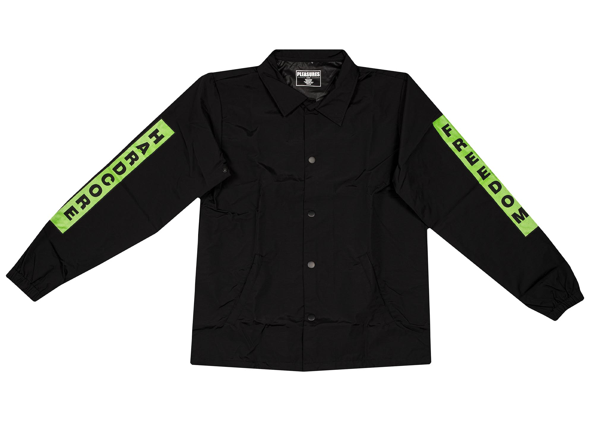 Pleasures Hardcore Freedom Coach Jacket 'Black'