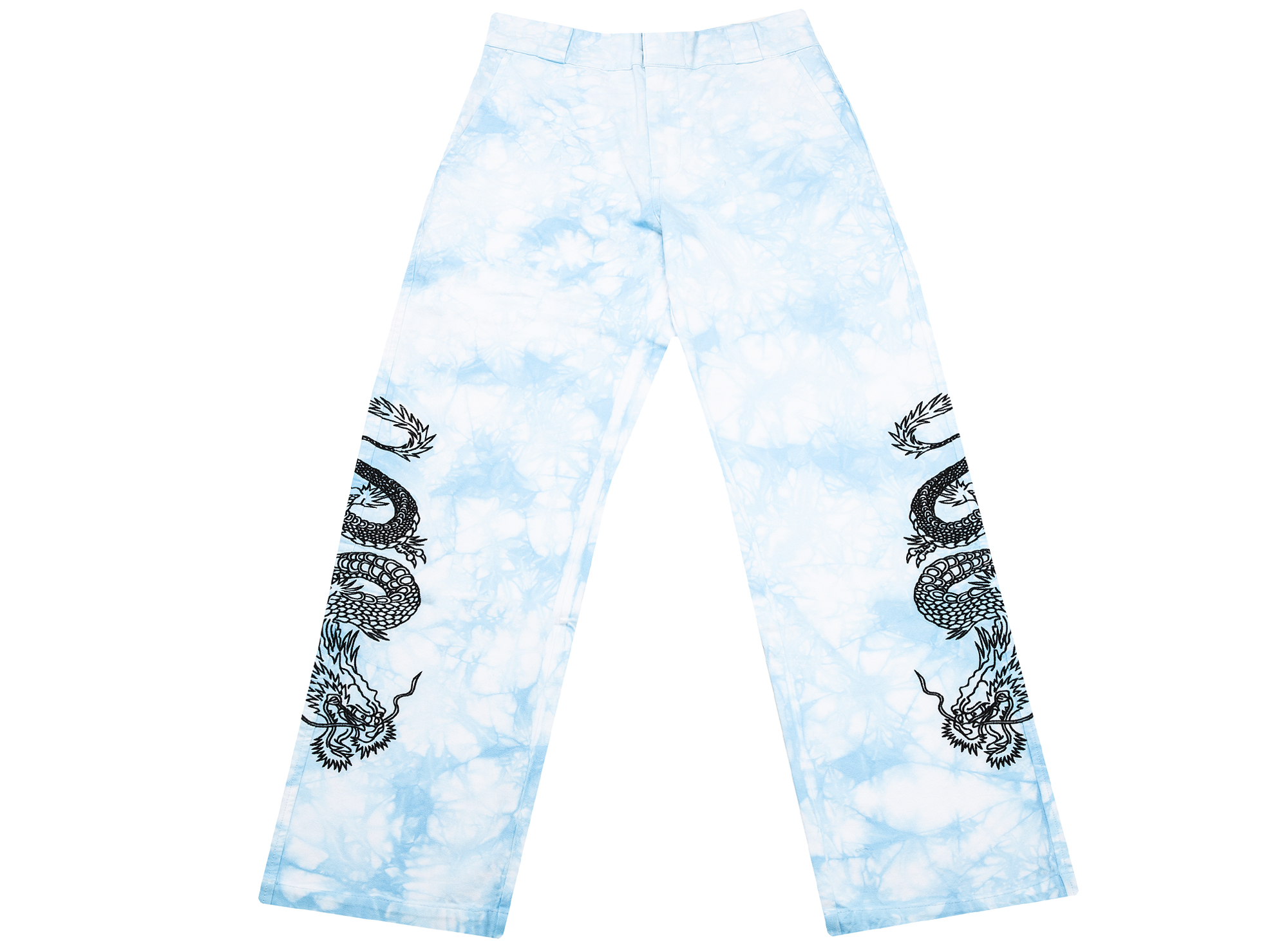 Clot x Dickies Dragon Tie Dye Chino in Blue
