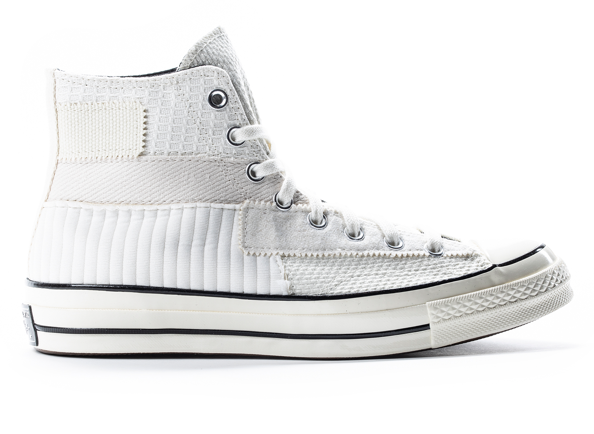 Converse 70 Hi Patchwork in Cream