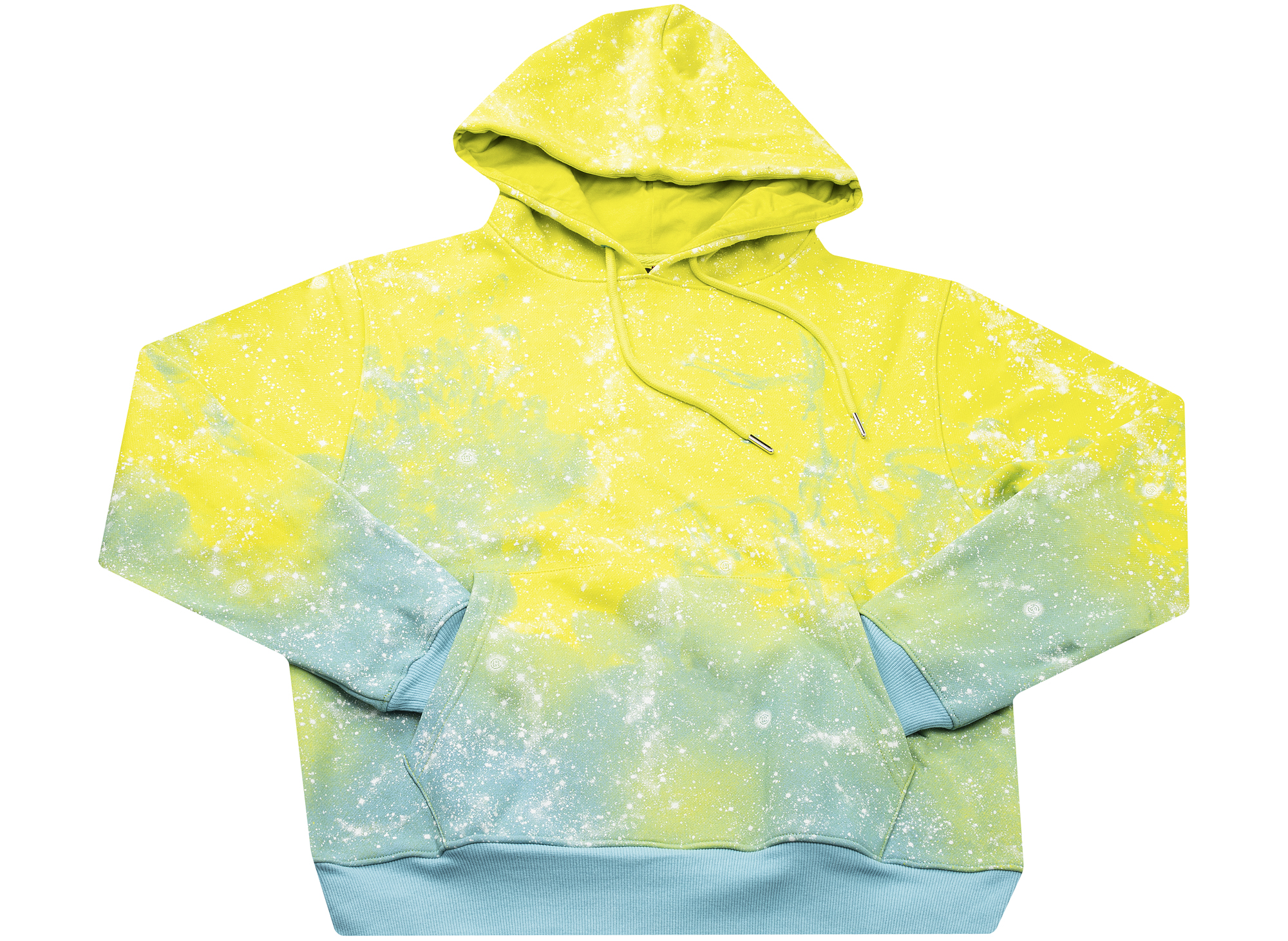 Clot Stars All Over Hoodie in Yellow