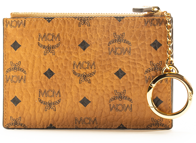 MCM Mini Key Pouch in Visetos Original xld