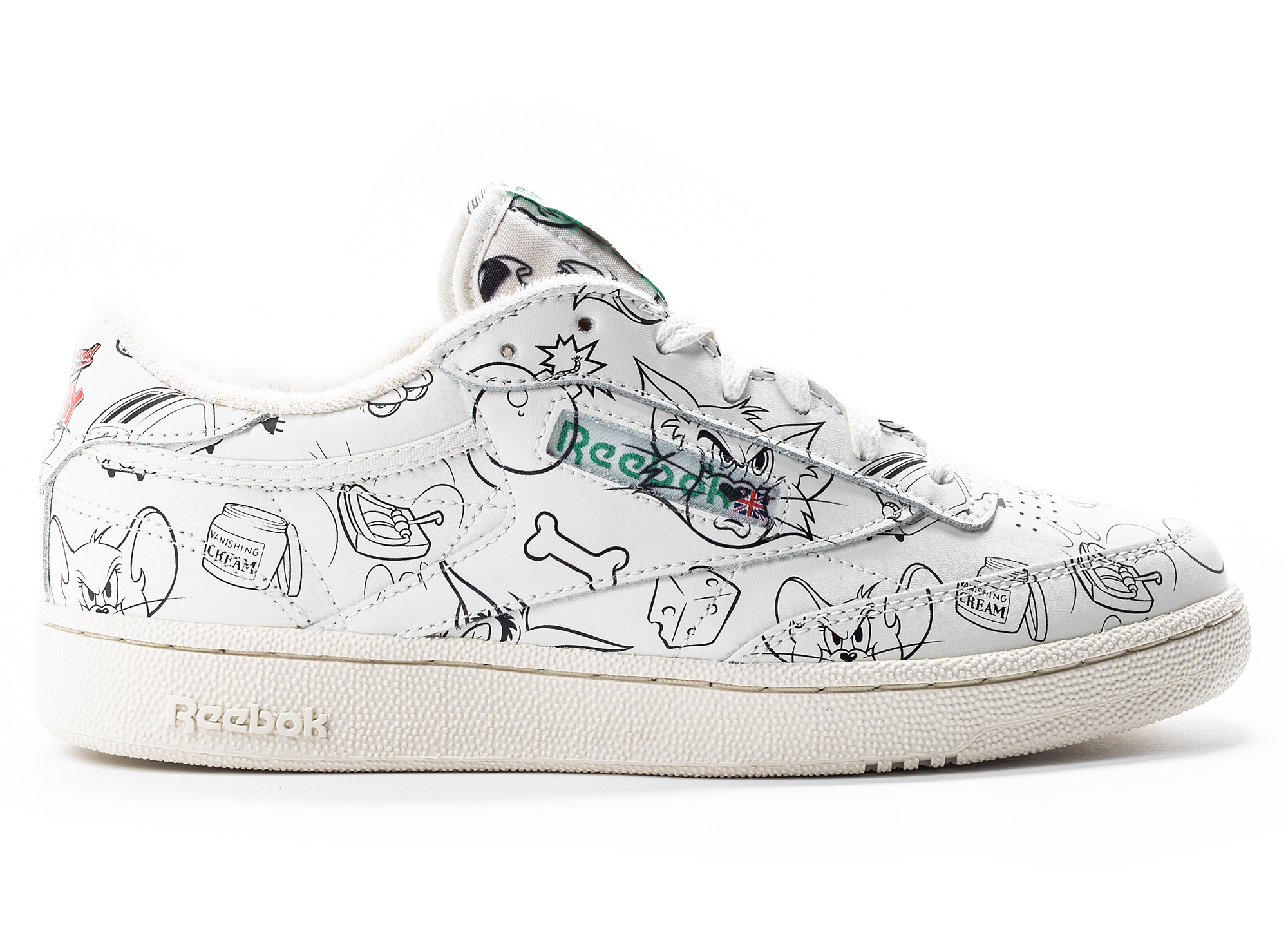 Reebok x Tom and Jerry Club C 85