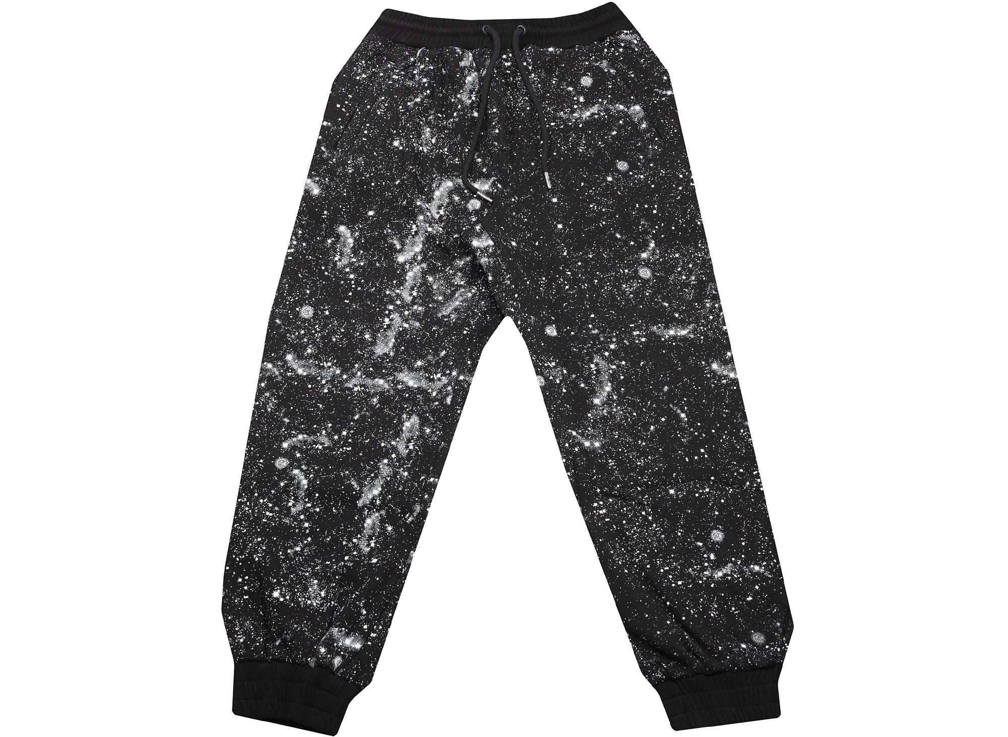 Clot Stars All Over Sweatpants in Black