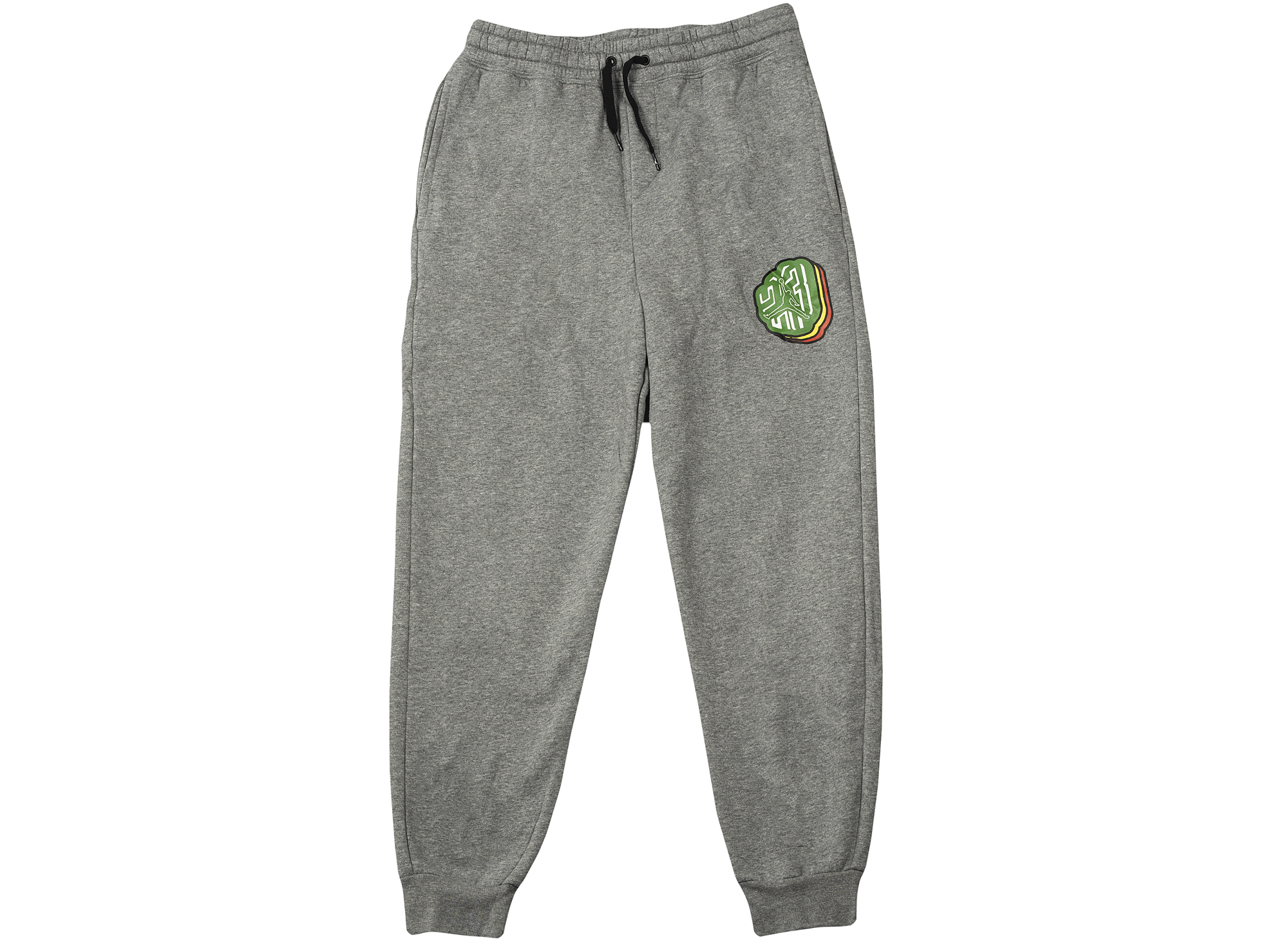 Jordan Jumpman Sticker Pants in Grey