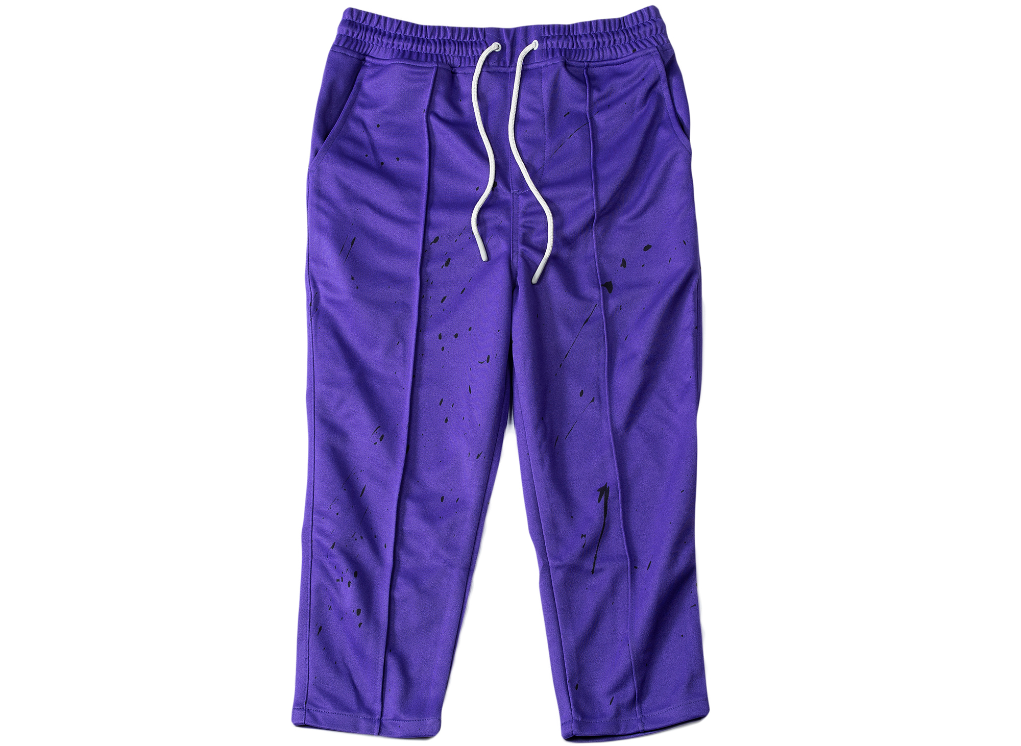 Honor the Gift Artisan Fleece Track Pants in Purple