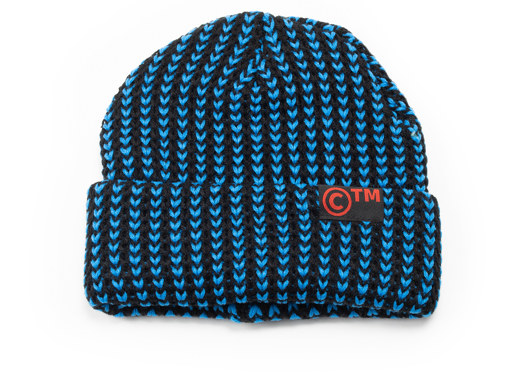Chinatown Market CTM Knit Beanie in Blue