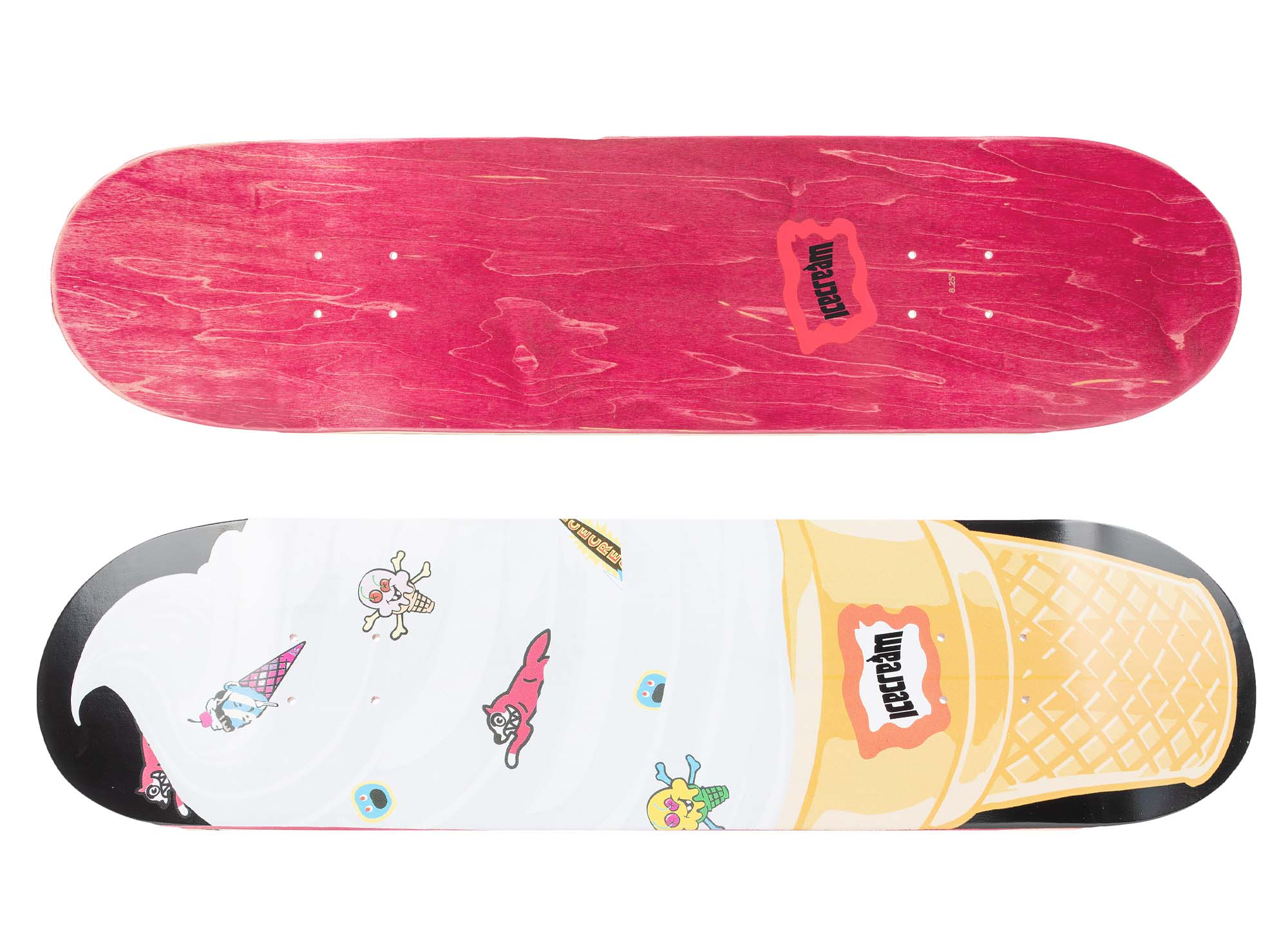 ICECREAM Swirl Skate Deck