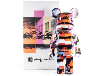 Medicom Toy Bearbrick Andy Warhol The Last Supper 1000%