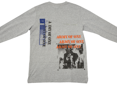 INDVLST Hand Printed Army of One Long Sleeve