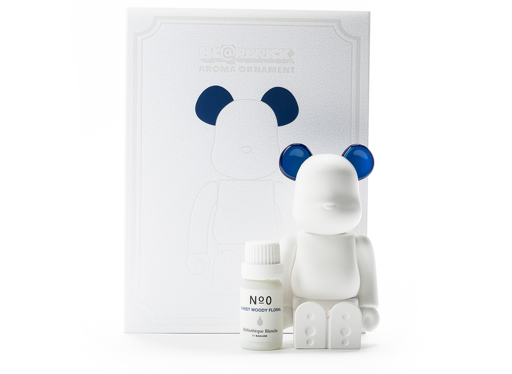 Ballon x Medicom Toy Bearbrick Aroma Ornament No.0 - Navy