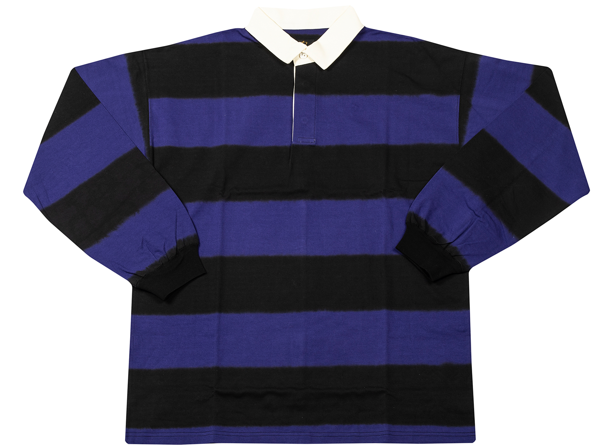 Needles Long Sleeve Rugby Polo Heavy Shirt