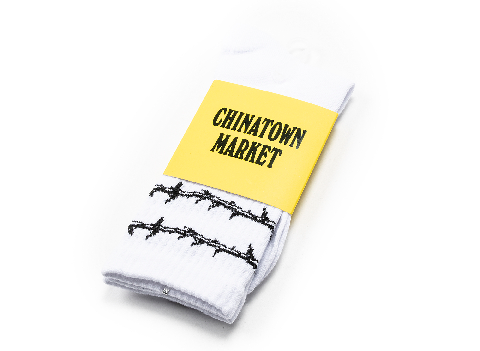 Chinatown Market Thorn Socks in White