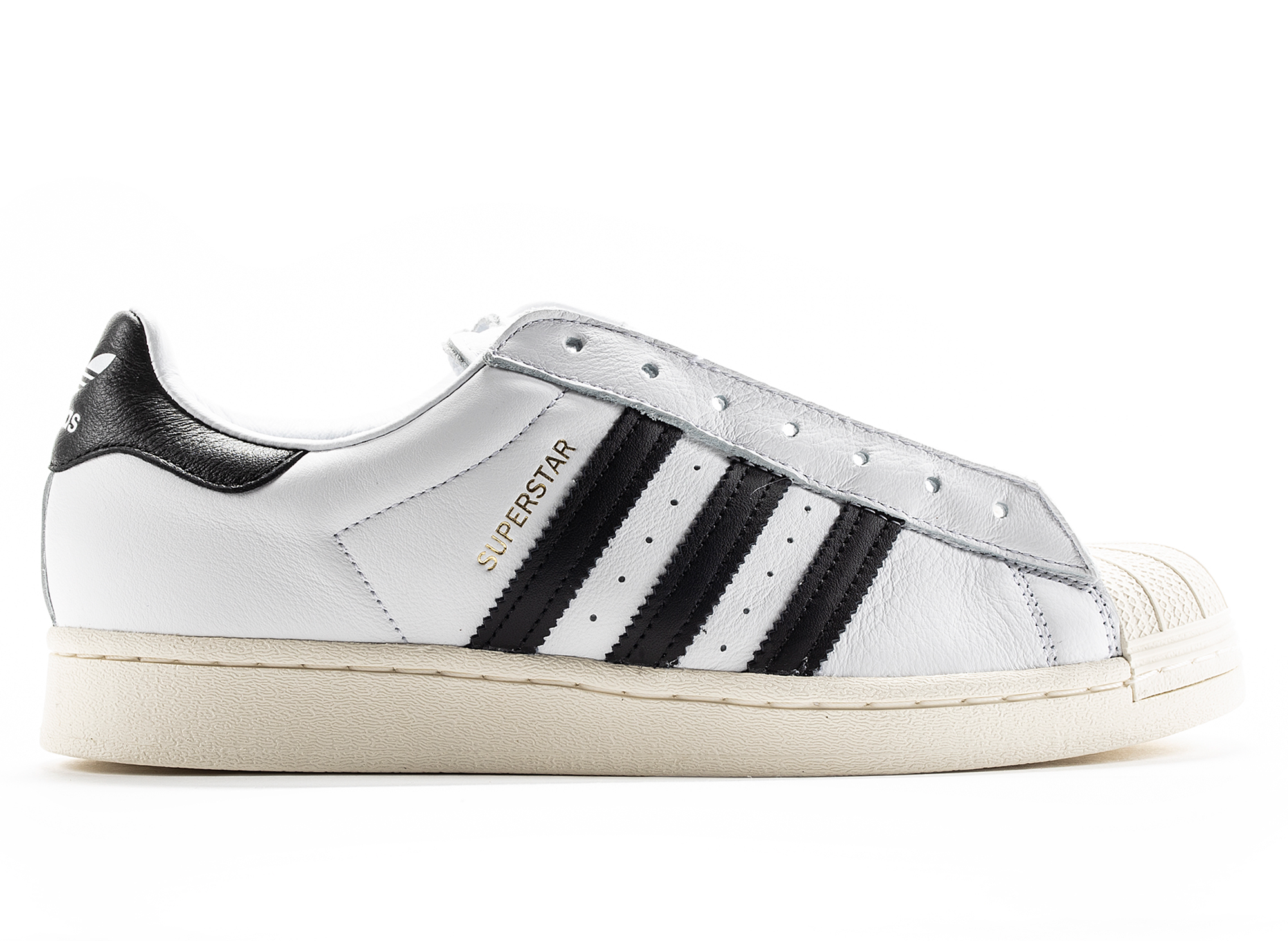 Adidas Superstar Laceless Sneakers in White