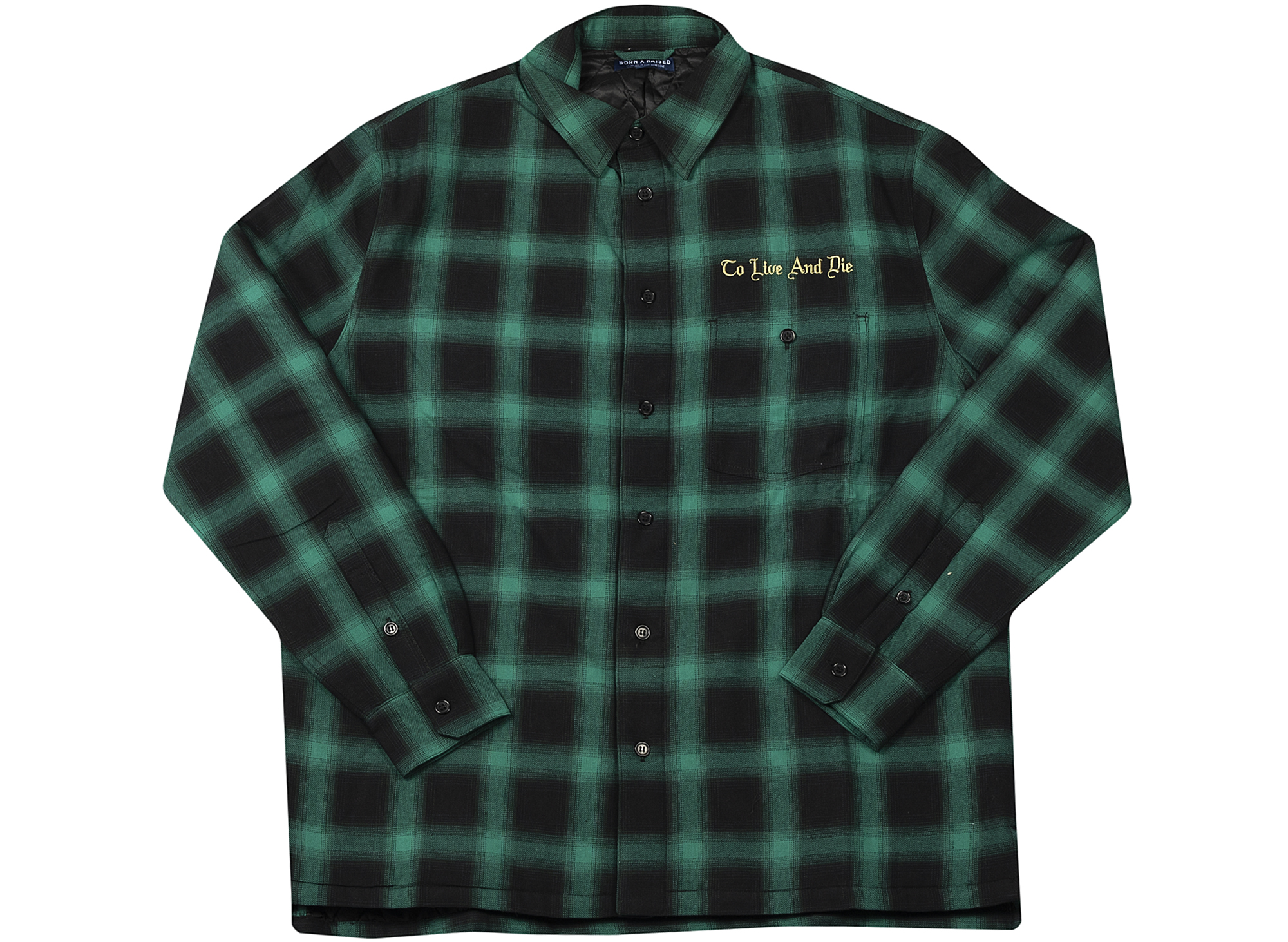 Born x Raised To Live and Die Flannel