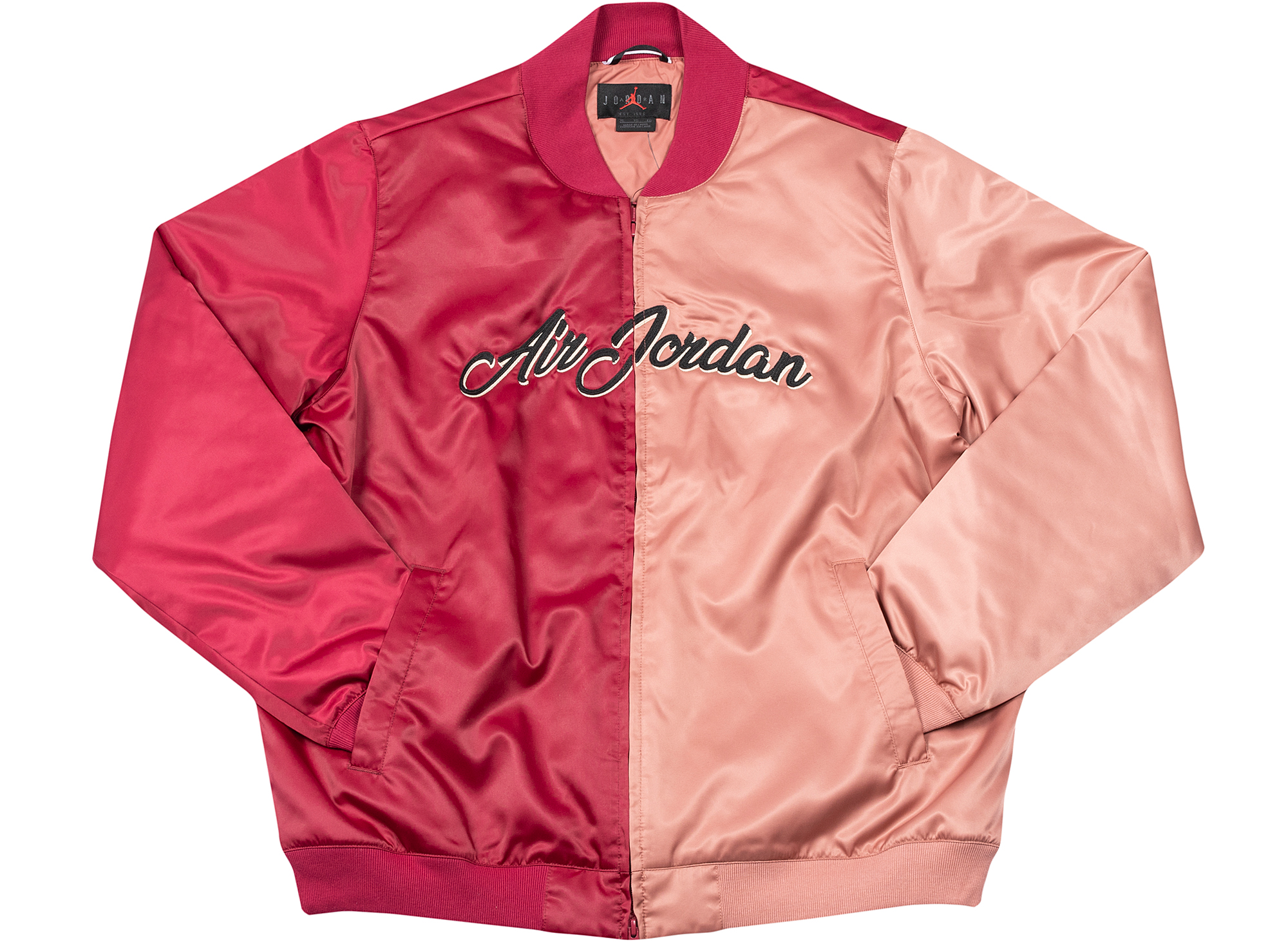 Jordan Remastered Bomber Jacket in Red