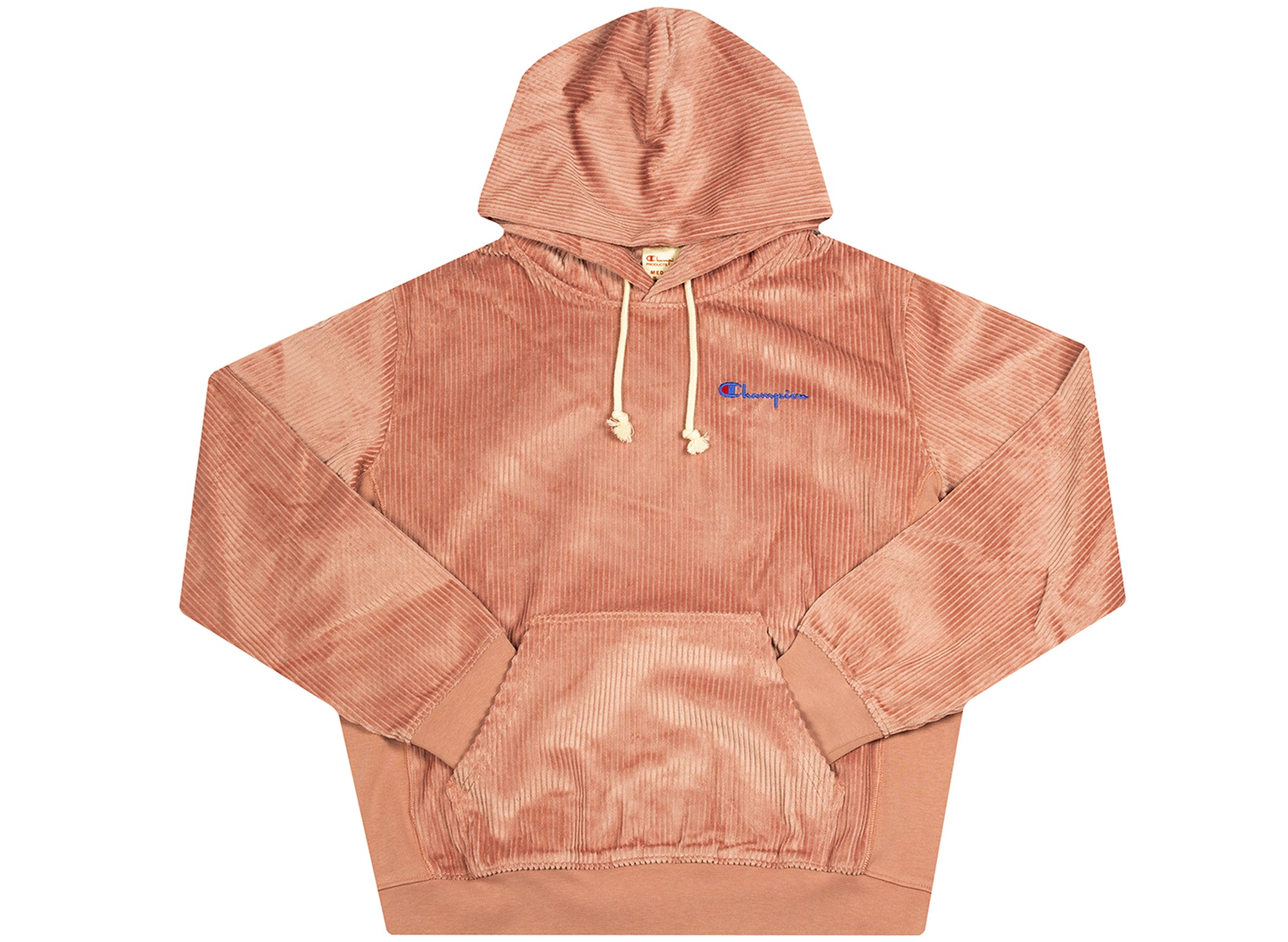 Champion Corduroy Hooded Sweatshirt