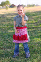 Egg Gathering Apron Pattern for Kids, PDF
