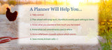 a vegetable garden planner will help you
