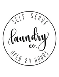 "Farmhouse Laundry Room Decor ""Laundry Co. Self Serve Open 24 Hours"""