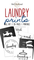 Laundry Room Printables Bundle | 30+ Laundry Room Printables