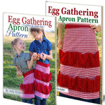 Egg Gathering Apron Patterns, Adult & Kids