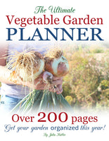 vegetable garden planner cover