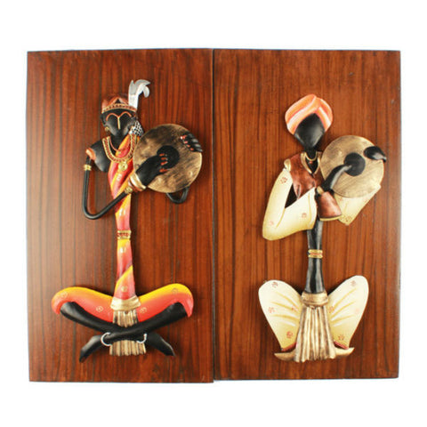 Musician Wall Hanging Set ( Pair 2 ) - Giftingnation - 1