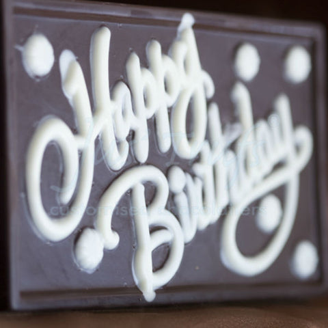 Happy Birthday Chocolate Bar - Giftingnation