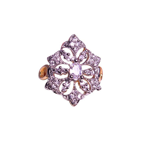 Alluring Crystal Finger Ring