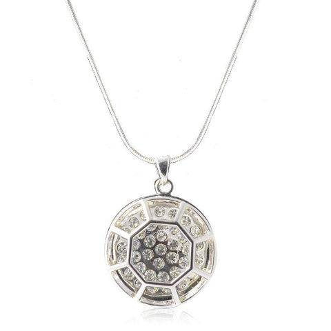 Cosmic Window Pendant Necklace
