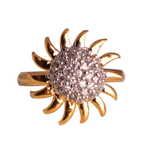 Fashionable And Stylish Crystal Finger Ring For Women