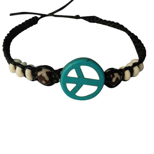 Trendy Blue And Black Bracelet