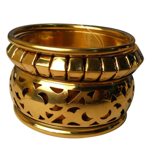 Trendy Golden Bangles For Women