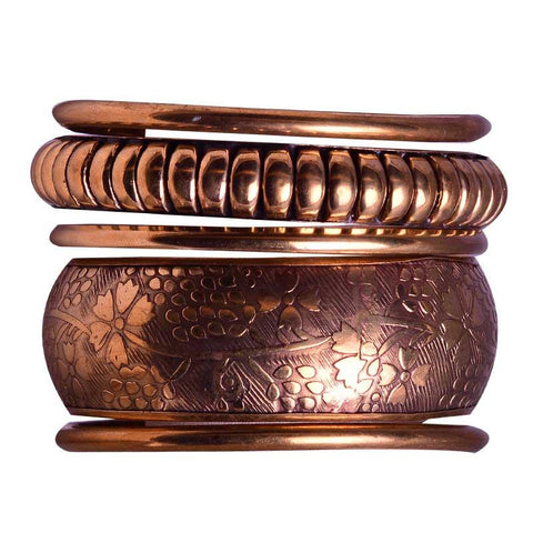 Stylish Golden Bangles For Women