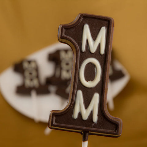 Mom No. 1 Chocolate Lollipop - Giftingnation