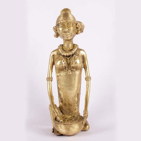 Bell Metal Sabji Wali Showpiece - Giftingnation - 1