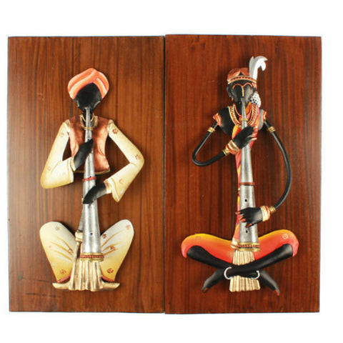 Musician Wall Hanging Set ( Pair 1 ) - Giftingnation - 1