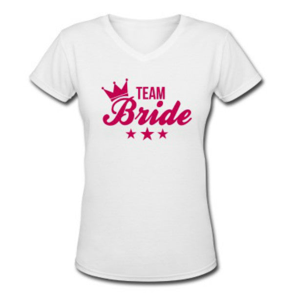 Bride Team Custom T Shirts - Giftingnation