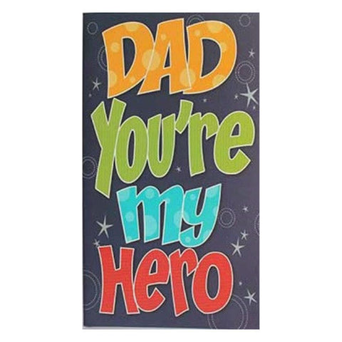 Dad You Are My Hero Archies Greeting Card - Giftingnation