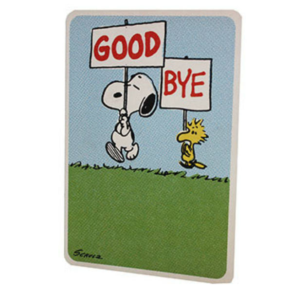 Good Bye Archies Greeting Card - Giftingnation