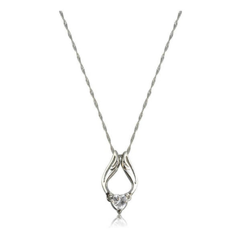Modern Silver Pendant Necklace for Women - Giftingnation - 1
