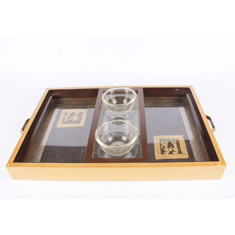 Antique Serving Tray - Giftingnation - 1