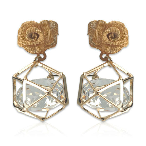 Rosy Affair Earrings - Giftingnation - 1