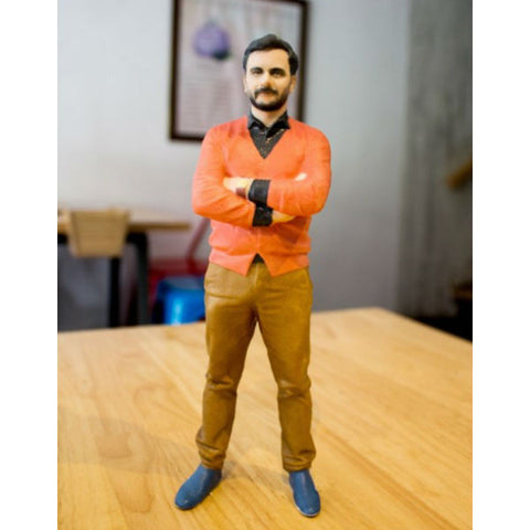 3D Clone Custom Bobblehead 8 Inches - Giftingnation