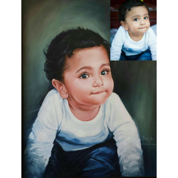 Personalised Acrylic Painting - Giftingnation